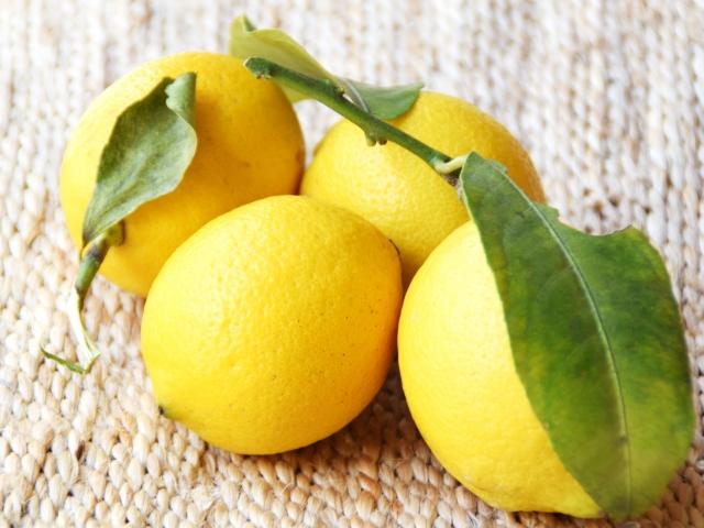 国産無農薬レモン