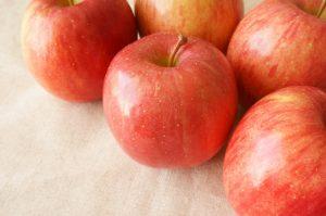 リンゴの食べ方