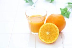 オレンジの食べ方