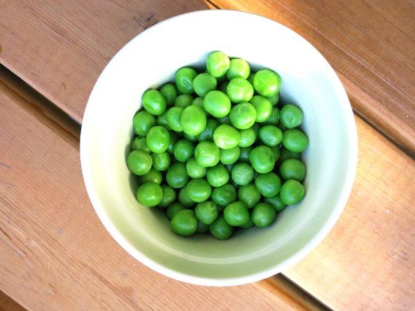 グリーンピースの栄養