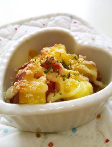 お弁当に☆さつま芋のマヨチーズ焼き