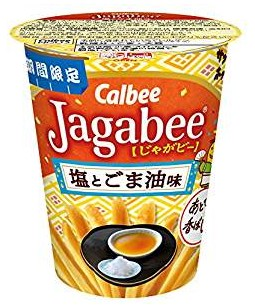 ジャガビー(塩とごま油味)