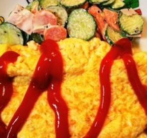 豆腐で簡単!チーズプレーンオムレツ