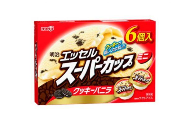 スーパーカップミニ クッキーバニラ 90ml × 6個