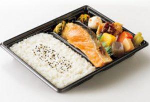 鮭幕の内弁当(ほっともっと)