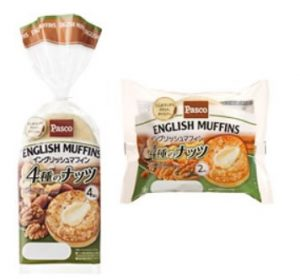 イングリッシュマフィン4種のナッツ