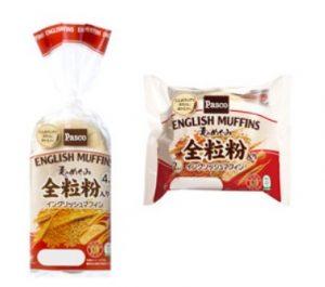 麦の恵み 全粒粉入りイングリッシュマフィン