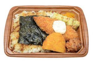 おかかたっぷり海苔弁当(麦飯・セブンイレブン)