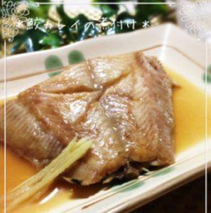 我が家の黄金比☆○○魚の煮付け♬《鮫鰈》