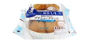 6P糖質を考えたプチシュークリーム(モンテール)