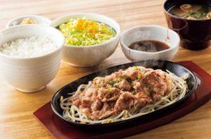 牛焼肉定食(やよい軒)