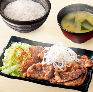 牛カルビ定食(吉野家)