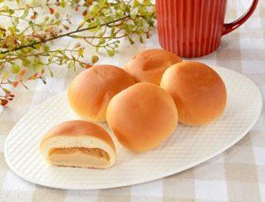 ミニピーナツクリームパン 5個入(ローソン)