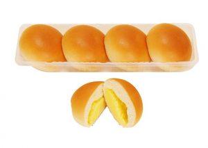 なめらかクリームパン(4個入り・ファミリーマート)
