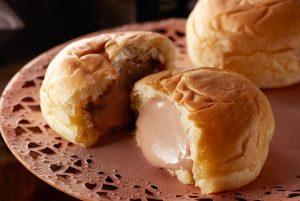 くりーむパン(八天堂・チョコレート)