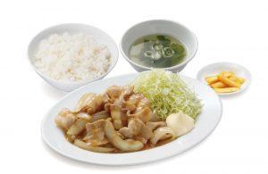 生姜焼き定食(オリジン東秀)