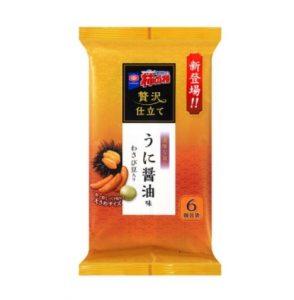 贅沢仕立て 亀田の柿の種 うに醤油味