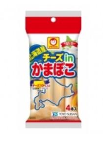 北海道産チーズinかまぼこ 4本入(東洋水産)
