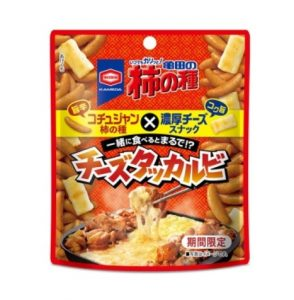 亀田の柿の種 チーズタッカルビ風