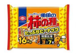 亀田の柿の種 たっぷりピーナッツ 16袋詰