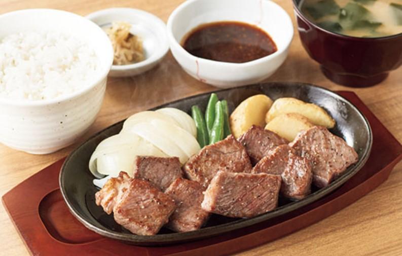 ステーキ定食(やよい軒)